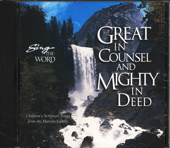 Sing the Word Great in Counsel and Mighty in Deed (New) - Little Green Schoolhouse Books
