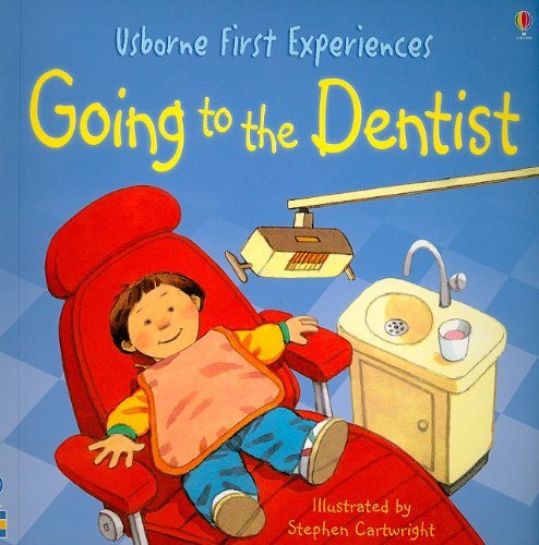 Going to the Dentist-Usborne First Experiences (Used) - Little Green Schoolhouse Books