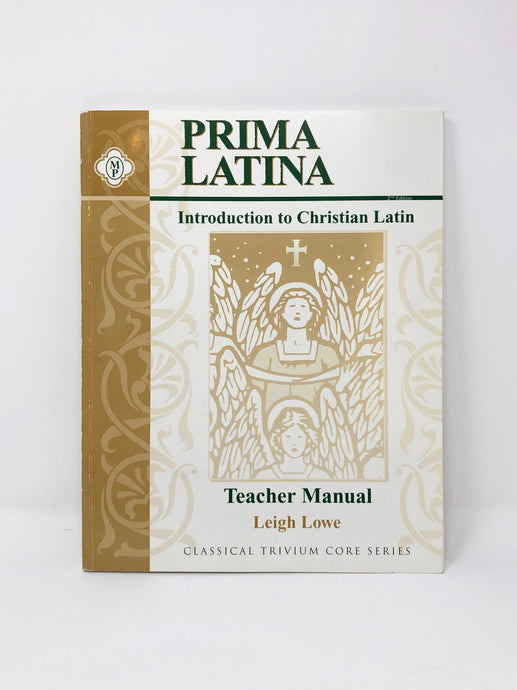 Prima Latina- An Introduction to Christian Latin- Set 2nd Edition (Bargain Basement) - Little Green Schoolhouse Books