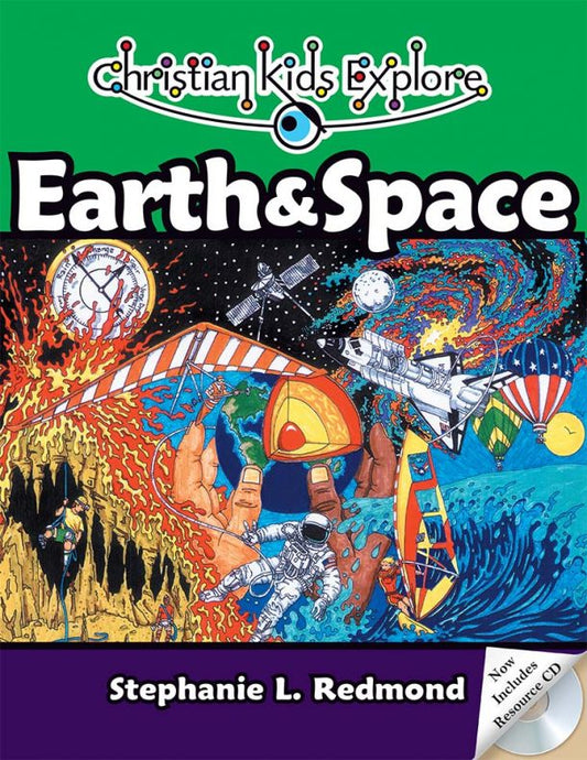 Christian Kids Explore Earth and Space (Used-Good) - Little Green Schoolhouse Books