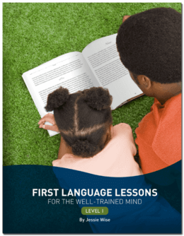 First Language Lessons for the Well-Trained Mind Level 1 Instructor's Guide (Used-like new) - Little Green Schoolhouse Books