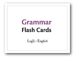 Grammar Flash Cards - Logic of English (Used) - Little Green Schoolhouse Books
