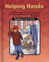 Christian Light's Helping Hands - Reader (used-Worn/Acceptable) - Little Green Schoolhouse Books