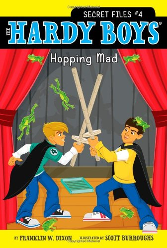 The Hardy Boys Secret Files #4 - Hopping Mad - by Franklin W. Dixon (New) - Little Green Schoolhouse Books