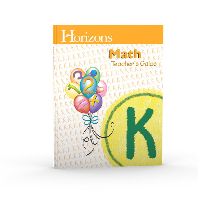 Horizons Math Teacher's Guide K (Used-Like New) - Little Green Schoolhouse Books