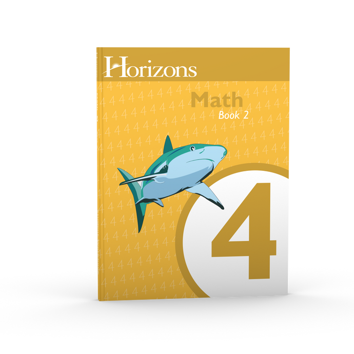 Horizons Math 4 book 2 (new) - Little Green Schoolhouse Books