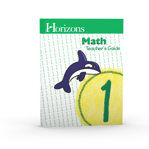 Horizons Math Teacher's Guide 1 (Used-Good) - Little Green Schoolhouse Books