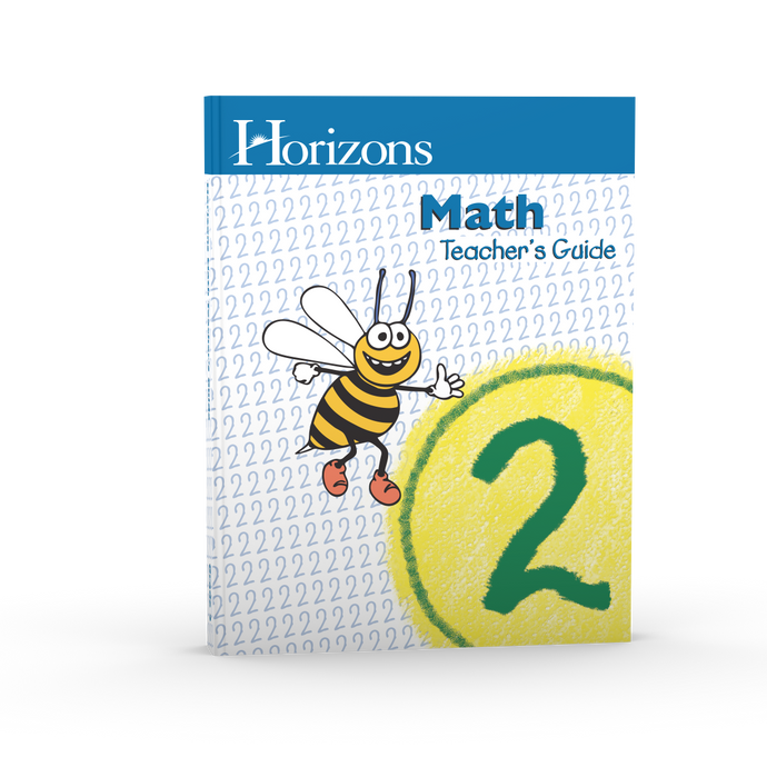 Horizons Math Teacher's Guide 2 (Used) - Little Green Schoolhouse Books