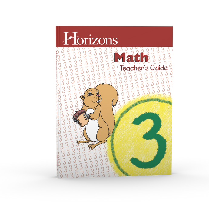 Horizons Math Teacher's Guide 3 (Used-Good) - Little Green Schoolhouse Books