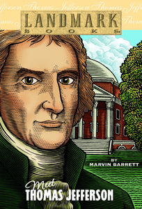 Meet Thomas Jefferson - Landmark Books (Used) - Little Green Schoolhouse Books
