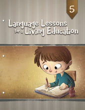 Load image into Gallery viewer, Language Lessons for a Living Education 5 (New) - Little Green Schoolhouse Books