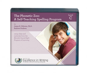 The Phonetic Zoo: A Self-Teaching Spelling Program (Level C) - IEW - (Used) - Little Green Schoolhouse Books