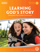 Learning God's Story Teacher's Manual (Used-Good) - Little Green Schoolhouse Books