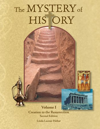 The Mystery of History Volume 1 - 2nd edition UNBOUND (Used-Good) - Little Green Schoolhouse Books