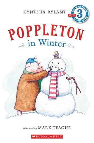 Poppleton In Winter By Cynthia Rylant (Used) - Little Green Schoolhouse Books
