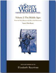 The Story of the World Volume 2:  The Middle Ages -Test Book - (Used) - Little Green Schoolhouse Books