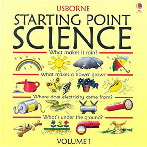 Usborne Starting Point Science (Used) - Little Green Schoolhouse Books