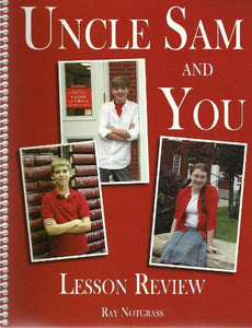 Uncle Sam and You Lesson Review - Notgrass History (Used) - Little Green Schoolhouse Books