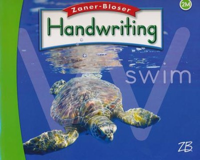 Zaner-Bloser Handwriting  Grade 2M - Student Edition (Used - Good) - Little Green Schoolhouse Books