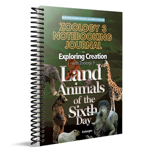 Exploring Creation with Zoology 3 -Notebooking Journal - Young Explorer Series (Used-Like New) - Little Green Schoolhouse Books