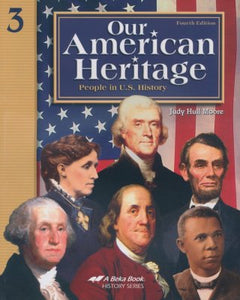 Abeka Our American Heritage: People in U.S. History, Fourth Edition (used-worn/acceptable) - Little Green Schoolhouse Books