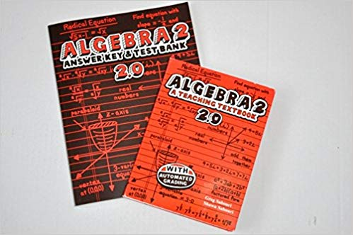 Algebra 2 Teaching Textbooks 2.0 CDs and Answer Key and Test Bank set - (bargain basement) - Little Green Schoolhouse Books