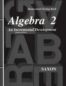 Saxon Algebra 2 Bundle (3rd Edition) (Used-Good) - Little Green Schoolhouse Books