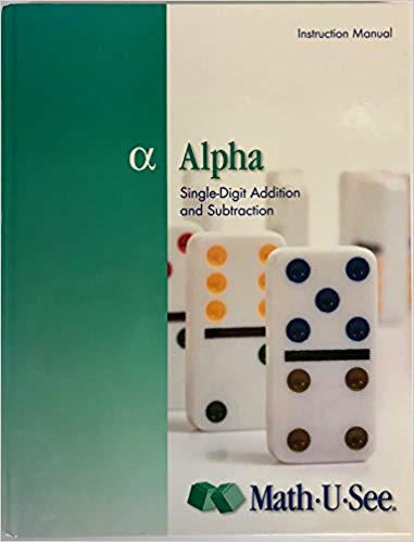 Math U See Alpha- 2004 Copyright (Used-Good) - Little Green Schoolhouse Books