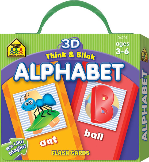 Think and Blink Alphabet Flash Cards (Used)