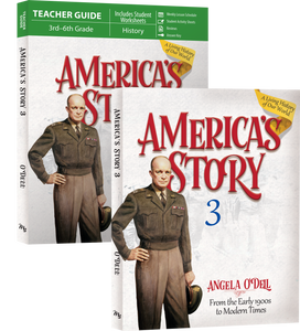 America's Story: From the Early 1900's to Modern Times: Volume 3 SET (New) - Little Green Schoolhouse Books