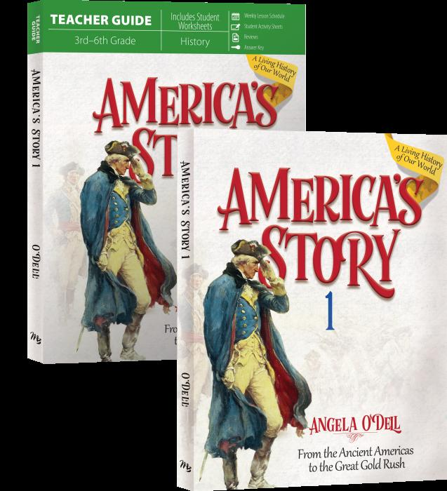 America's Story: From the Ancient Americas to the Great Gold Rush: Volume 1 SET (New) - Little Green Schoolhouse Books