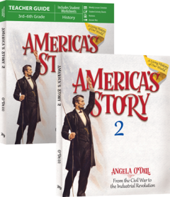 America's Story: From the Civil War to the Industrial Revolution: Volume 2 SET (New) - Little Green Schoolhouse Books