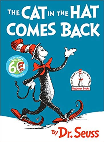 The Cat in the Hat Comes Back by Dr. Seuss (Used) - Little Green Schoolhouse Books