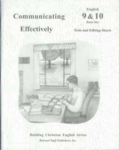 Communicating Effectively- English 9&10- Book 1 (used-like new) - Little Green Schoolhouse Books