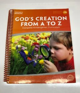 God's Creation from A to Z Bundle (Prev Edit) (Used- worn/acceptable) - Little Green Schoolhouse Books
