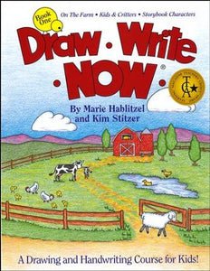 Draw Write Now Book 1: On the Farm, Kids and Critters, Storybook Characters (Used-good) - Little Green Schoolhouse Books