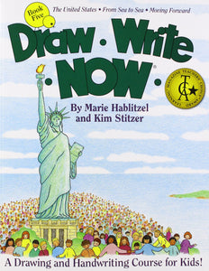 Draw Write Now Book 5: The United States, From Sea to Sea, Moving Forward (Used-Like New) - Little Green Schoolhouse Books