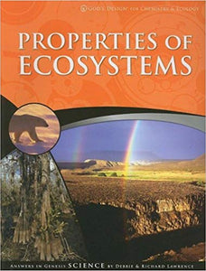 God's Design for Chemistry & Ecology: Properties of Ecosystems Student Text (3rd Edition) (Used-Good) - Little Green Schoolhouse Books