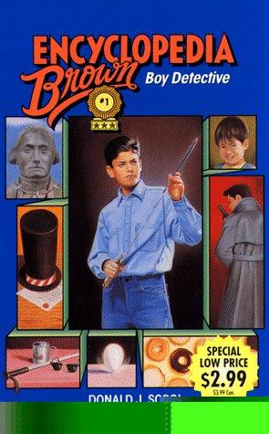 Encyclopedia Brown, Boy Detective #1 (prev edition) (used-good) - Little Green Schoolhouse Books