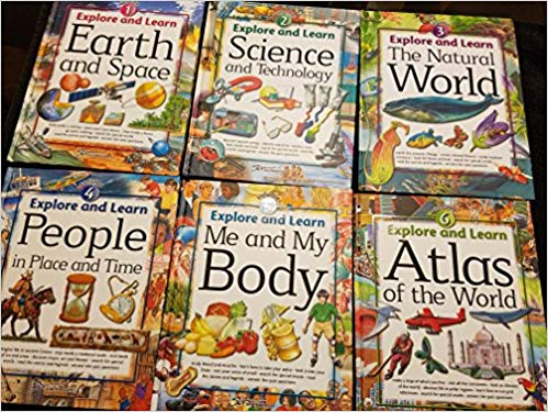 Explore and Learn, 6 Volume Set, 2015 edition (used-like new) - Little Green Schoolhouse Books