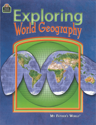 Exploring World Geography (used) - Little Green Schoolhouse Books