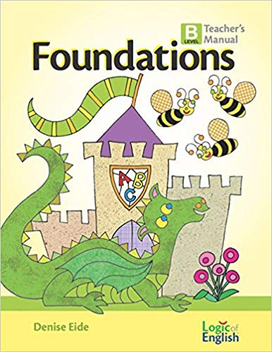 Foundations B- Teacher's Manual - Logic of English (Used-Worn/Acceptable) - Little Green Schoolhouse Books