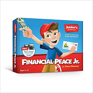 Financial Peace Junior Kit: Teaching Kids How to Win With Money (used-like new) - Little Green Schoolhouse Books