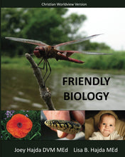 Load image into Gallery viewer, Friendly Biology- Student Textbook and Lesson Tests and Answer Keys - Christian Worldview Version (used) - Little Green Schoolhouse Books