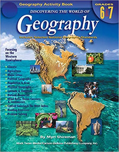 Discovering the World of Geography, Grades 6 - 7 (used-like new) - Little Green Schoolhouse Books