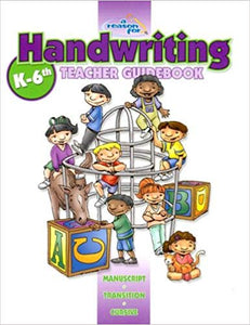 A Reason for Handwriting K-6th - Teacher Guidebook (used-good) - Little Green Schoolhouse Books