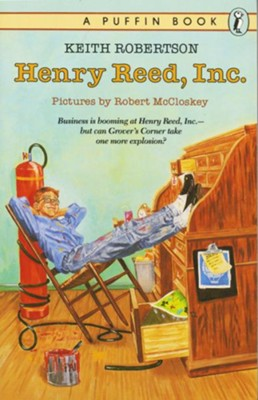 Henry Reed, Inc- by Keith Robertson (used) - Little Green Schoolhouse Books