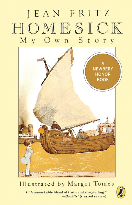 Homesick: My Own Story - Jean Fritz (Used) - Little Green Schoolhouse Books