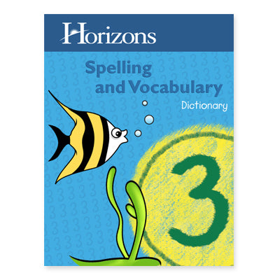 Horizons Spelling and Vocabulary Dictionary 3 - (Used-Worn/Acceptable) - Little Green Schoolhouse Books