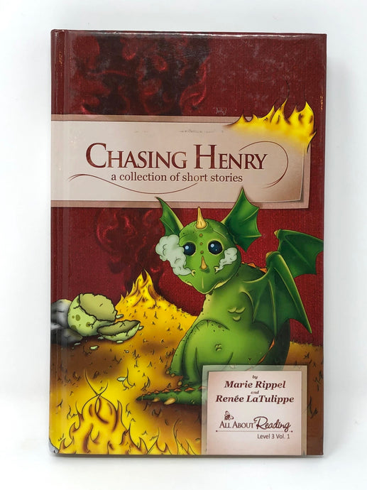 All About Reading - Level 3 Vol. 1 - Chasing Henry: A Collection of Short Stories - Black & White edition (Used-Like New)